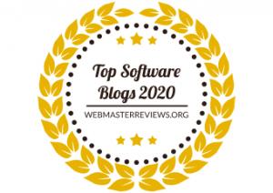 Top Software Blogs 2020 | banner