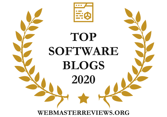 Banners for Top Software Blogs 2020