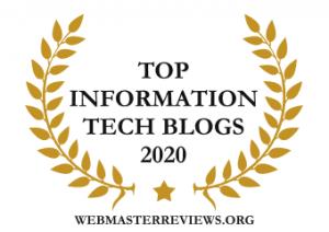 Top Information Tech Blogs 2020 | banner