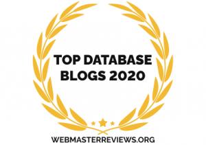 Top Database Blogs 2020 | banner