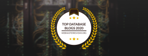 Top Database Blogs 2020   header