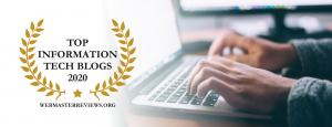 Top Information Tech Blogs 2020   header