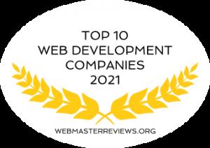 Top 10 Web Development Companies 2021 | Banner 340 x 240