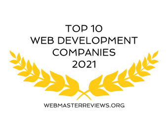 Badges for Top 10 Web Development Companies 2021