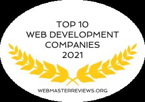 Top 10 Web Development Companies 2021 | Banner 540 x 380